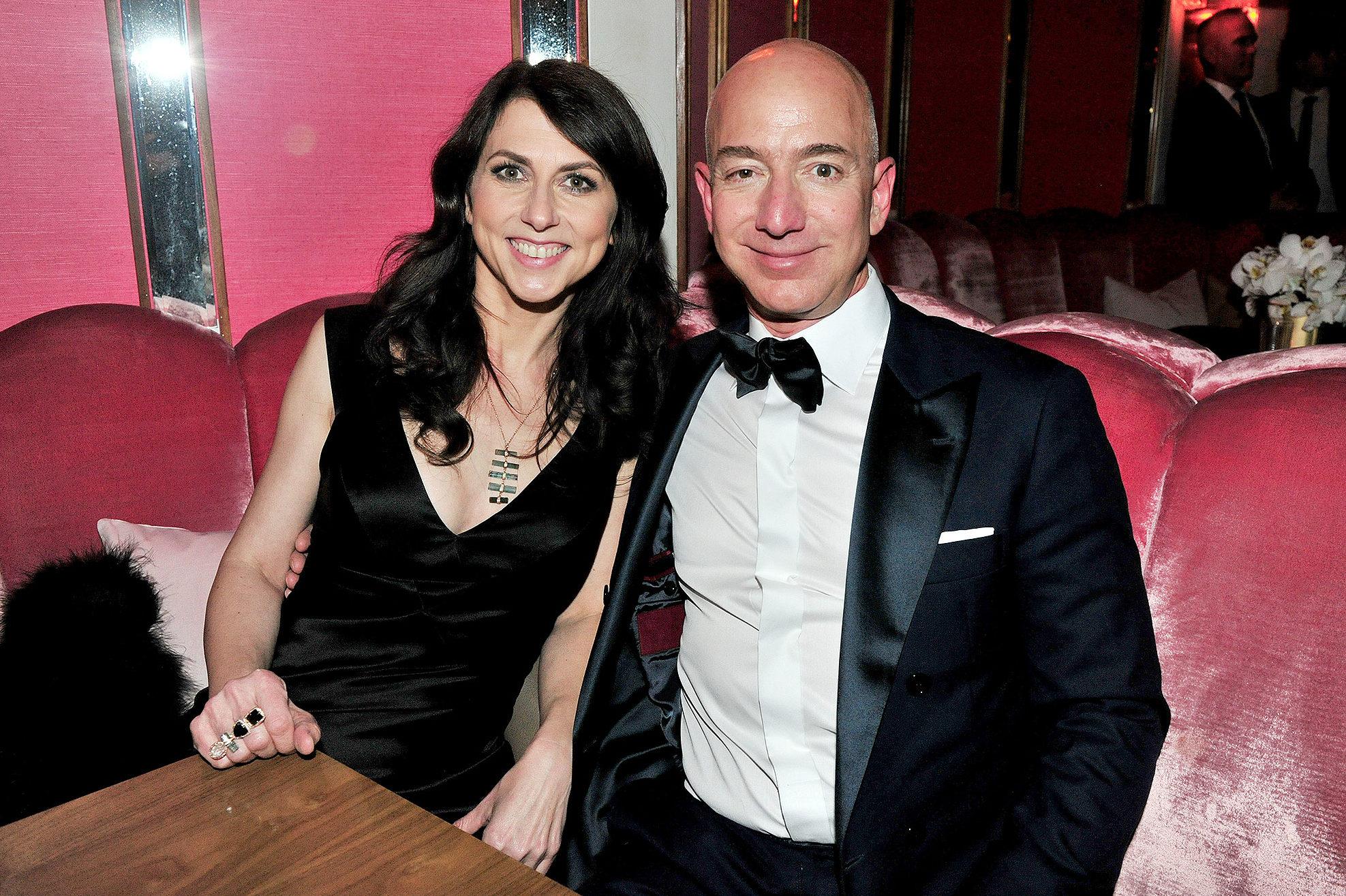 Jeff şi MacKenzie Bezos, cel mai bogat cuplu din istoria lumii: Cum s-au cunoscut cei doi