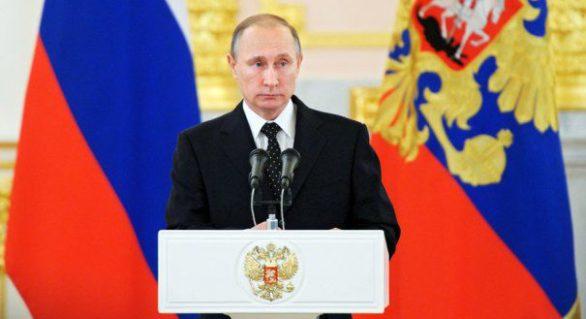 Înainte de alegerile din martie, Putin anunță o creștere a salariilor din luna mai