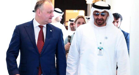 """Igor Dodon, din nou, în """"vacanță"""". Vezi ce face șeful statului la Dubai"""