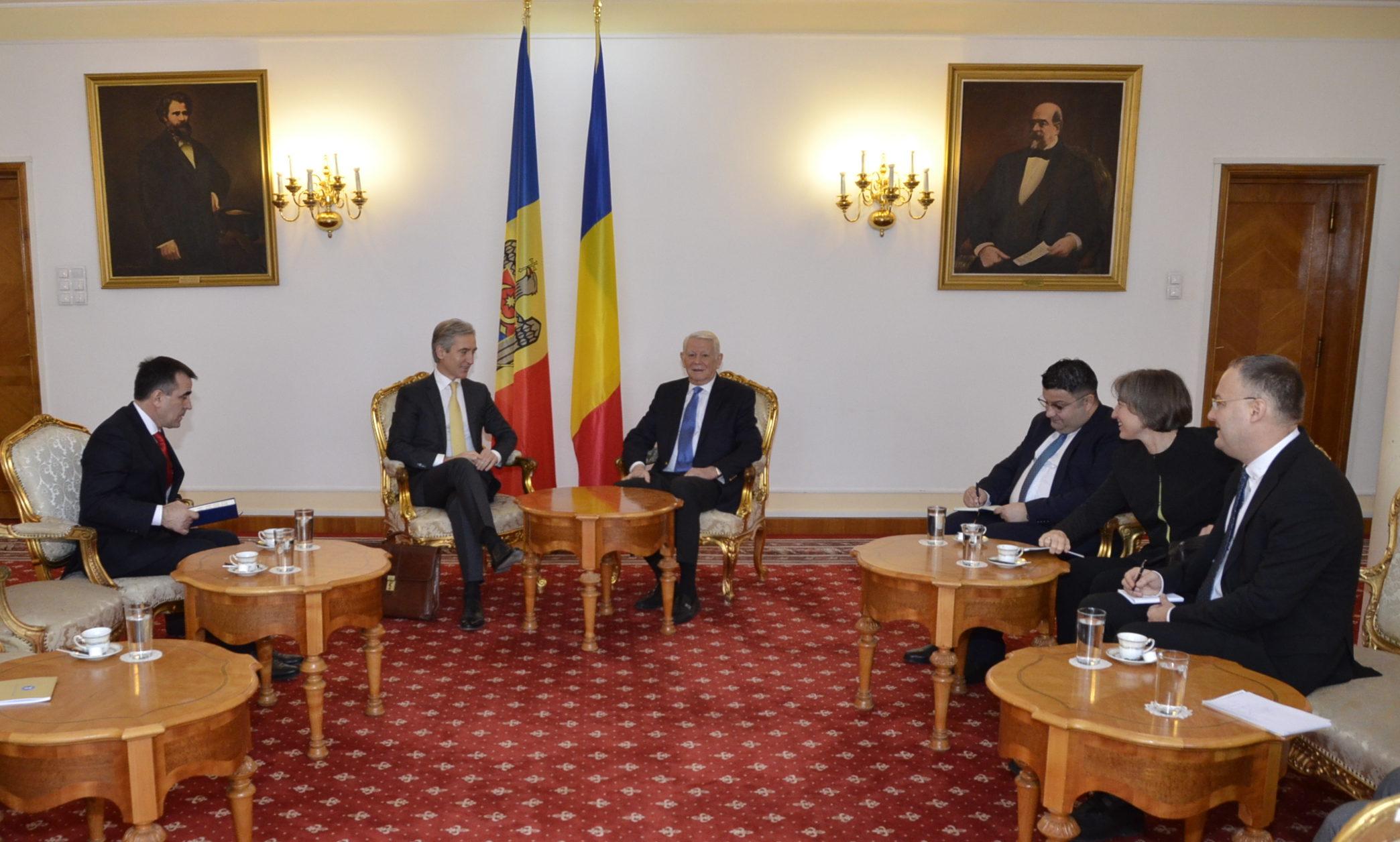 """Iurie Leancă la București: Integrarea europeană a Republicii Moldova se va face """"cu și prin România"""""""