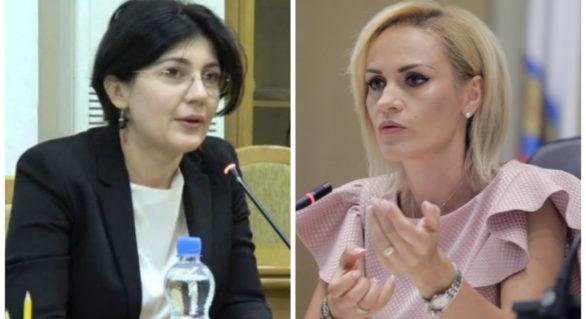 """Silvia Radu merge la Bucureşti la invitaţia """"omologului"""" său Gabriela Firea"""