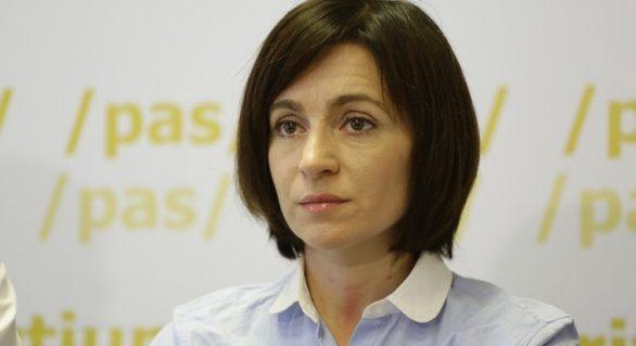 Maia Sandu neagă că s-ar fi văzut cu Vlad Plahotniuc: Nu negociem cu oligarhii