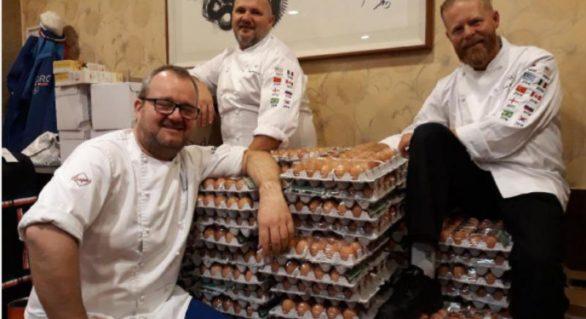 Bucătarii lotului norvegian de la JO-2018 au primit 15.000 de ouă în loc de 1.500, după ce au făcut comanda pe google translate