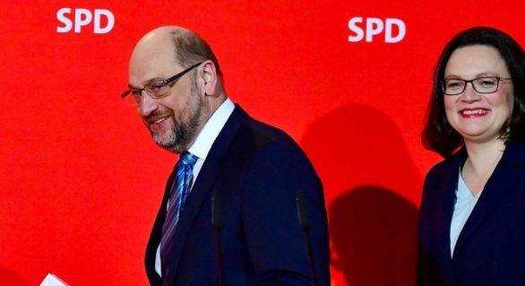 Partidul Social Democrat german îşi numeşte la conducere prima femeie, Andrea Nahles