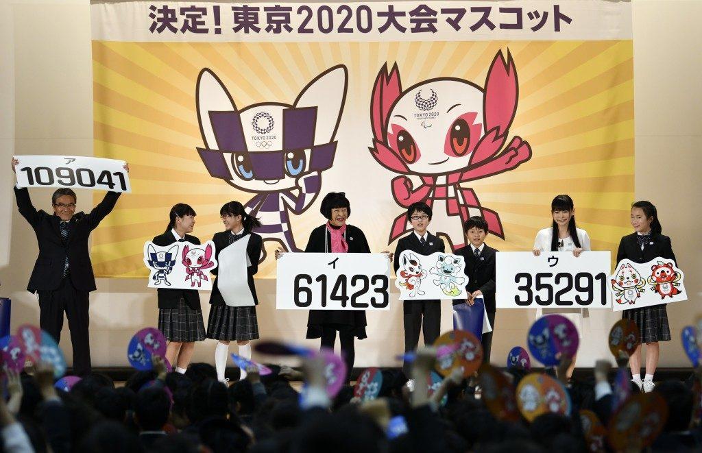 Organizatorii Jocurilor Olimpice de la Tokyo au prezentat mascotele pentru JO din 2020, super-eroi cu ochi mari