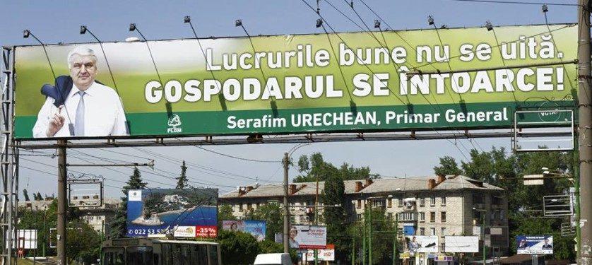 """""""Gospodarul"""" Serafim Urechean se întoarce! Dar nu la alegerile locale, ci la cele parlamentare. """"Am decis. Voi candida. Independent"""""""