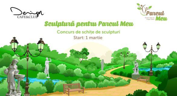 Parcul Valea Trandafirilor din capitală ar putea fi înfrumusețat cu un șir de sculpturi, alese în cadrul unui concurs lansat astăzi
