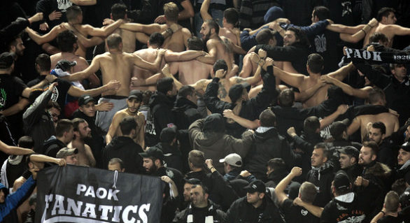 Suporterii clubului de fotbal PAOK Salonic au invadat sediul unui post de televiziune