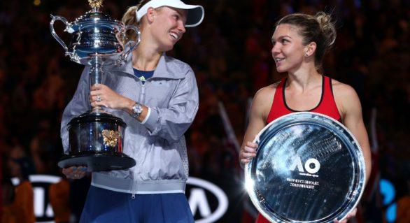 Wozniacki, eliminată în optimi de la Indian Wells. Halep se poate distanța în fruntea ierarhiei WTA