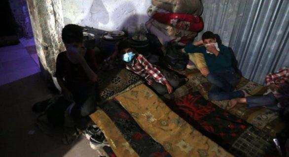 OMS: 500 de persoane au fost expuse la substanțe chimice toxice în orașul sirian Douma