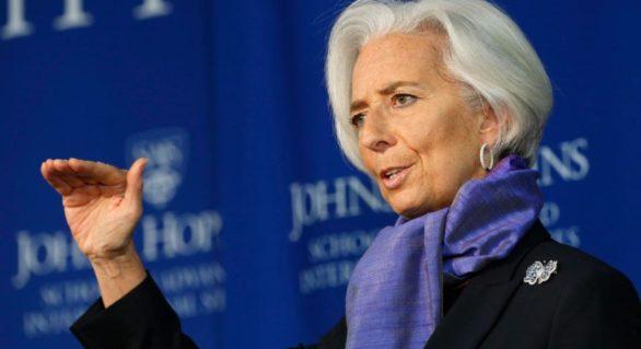 """Șefa FMI avertizează: """"Norii negri"""" apar pe cerul economiei globale"""