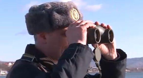 Urmărire cu focuri de armă pe Marea Neagră