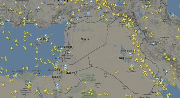Cum arată spațiul aerian al Siriei, după ce SUA au amenințat că trimit rachetele