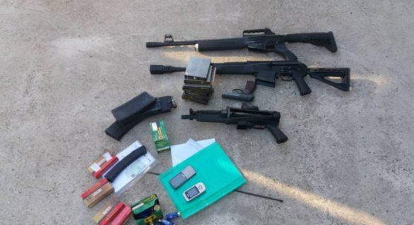 PCCOCS și SPIA au descins în casele mai multor găgăuzi în căutarea drogurilor, dar au găsit arme și muniții