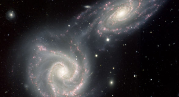 Calea Lactee se extinde spre Andromeda cu o viteză uriașă