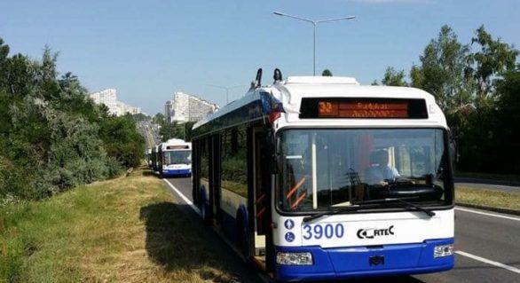 La Chișinău va fi lansată o nouă linie de troleibuz. Ruta nr. 31 va face conexiunea dintre centrul capitalei și orașul Sângera