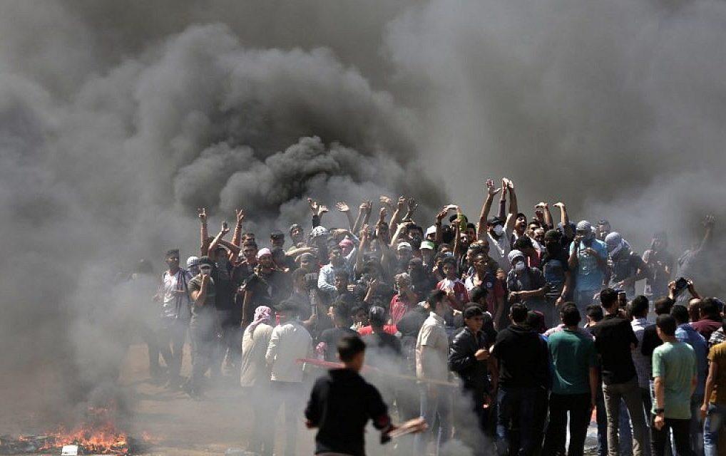 Cel puțin 18 palestinieni uciși la granița dintre Israel și Fâșia Gaza în ziua deschiderii Ambasadei SUA la Ierusalim