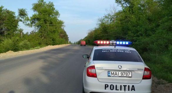 Record de viteză pe traseul Chișinău-Leușeni! Un șofer a fost surprins de radar cu 182 km/h