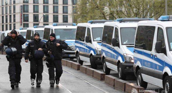 Germania: Două mii de polițiști, mobilizați pentru conferința AfD de la finalul lunii iunie