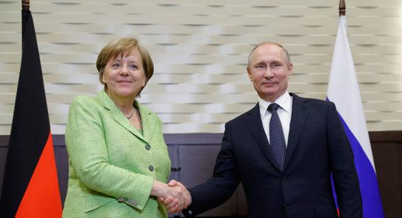 Prima întrevedere directă Putin-Merkel din ultimul an. Iran, Siria și Ucraina, pe agenda discuțiilor
