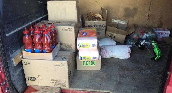 Agent economic din Briceni, reținut cu mărfuri de peste 70.000 de lei introduse ilegal pe teritoriul țării