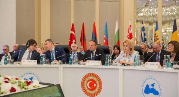 Candu: Moldova susține ideea creării unei baze de date comune a potențialilor investitori în țările din Regiunea Mării Negre