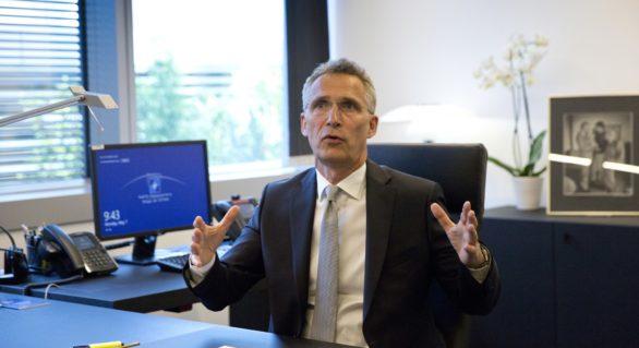 Jens Stoltenberg spune că dialogul dintre NATO și Rusia este posibil