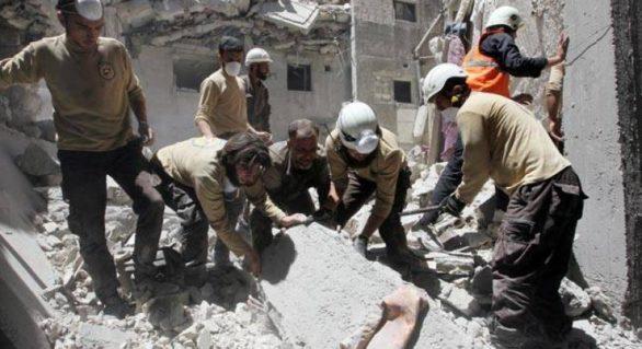 SUA au oprit finanțarea pentru Căștile Albe, voluntarii care sunt singura șansă a civililor captivi în enclavele rebele din Siria