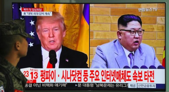 Summitul Trump-Kim ar urma să aibă loc la mijlocul lunii iunie, în Singapore, potrivit unui cotidian sud-coreean