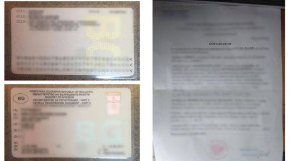 Două certificate de înmatriculare și o procură contrafăcută, depistate la intrarea în țară prin Sculeni și Briceni