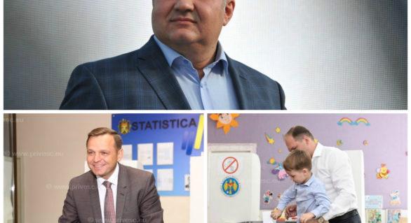 Candidatul PN la funcția de primar de Bălți, Nicolai Grigorișin, i-a Primăria din primul tur. La Chișinău, Ion Ceban și Andrei Năstase merg în turul doi