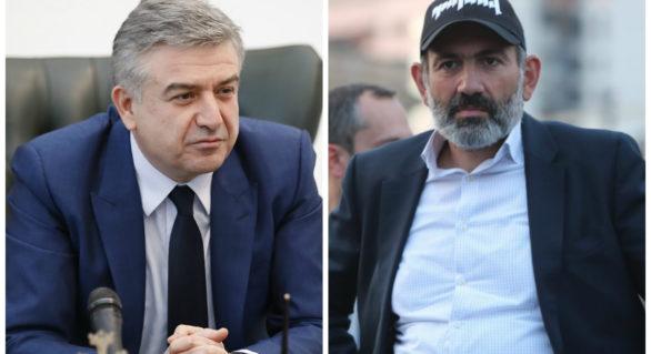 Premierul interimar al Armeniei cere ca forțele politice să se așeze la masa negocierilor pentru soluționarea crizei