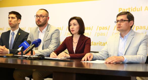 PAS înaintează guvernării o listă de precondiții pentru alegeri parlamentare libere și corecte. Maia Sandu vrea dezbateri cu Pavel Filip