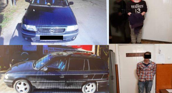 Minori din capitală cercetați pentru furtul unui automobil din orașul Durlești