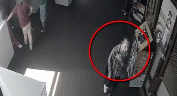 (VIDEO) Un tânăr, căutat de oamenii legii pentru furt. Dacă l-ai recunoscut anunță poliția imediat