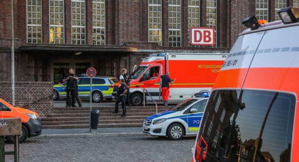 Un atacator cu cuțitul a fost împușcat mortal de poliție în gara Flensburg, din nordul Germaniei