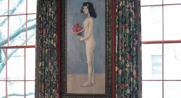 Un nud de Picasso s-a vândut cu 115 mil. dolari. Pictura aparținea colecției Rockfeller