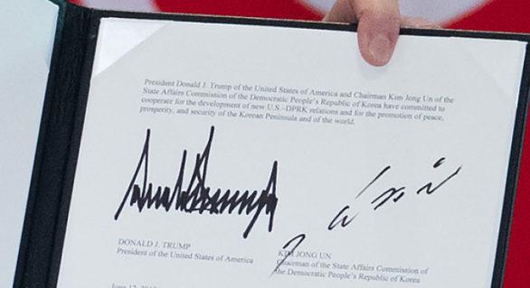 Ce prevede documentul istoric semnat între Donald Trump și Kim Jong Un