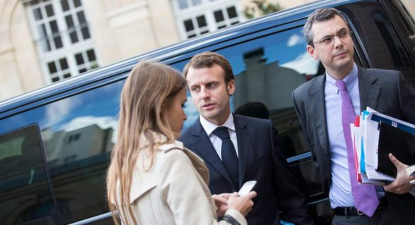 Consilier apropiat al președintelui francez, acuzat de conflict de interese, trafic de influență și corupere pasivă