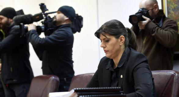 Laura Codruţa Kovesi, așteptată de procurorii CSM pentru audieri