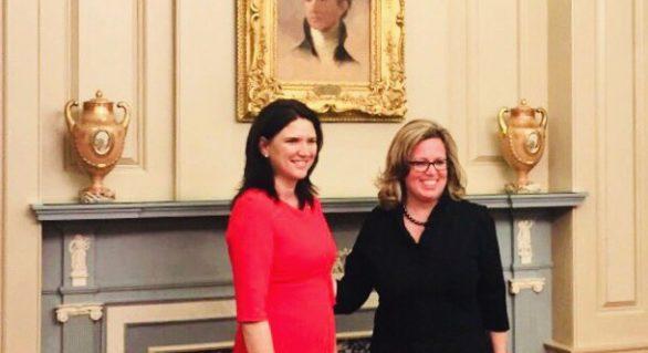 Ambasadorul agreat Cristina Balan a prezentat copiile scrisorilor de acreditare la Departamentul de Stat al SUA