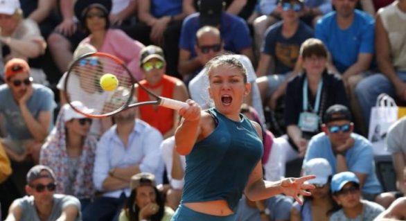 Simona Halep, calificare în sferturi la Roland Garros după un meci admirabil cu Elise Mertens