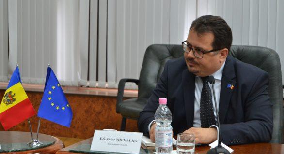 Delegația UE în Moldova: Plata primei tranșe din cadrul actualului Program de Asistență Macrofinanciară a fost suspendată