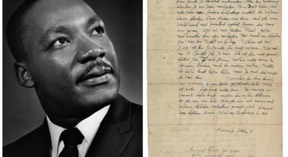 O scrisoare a lui Martin Luther critică la adresa evreilor este scoasă la licitație în SUA