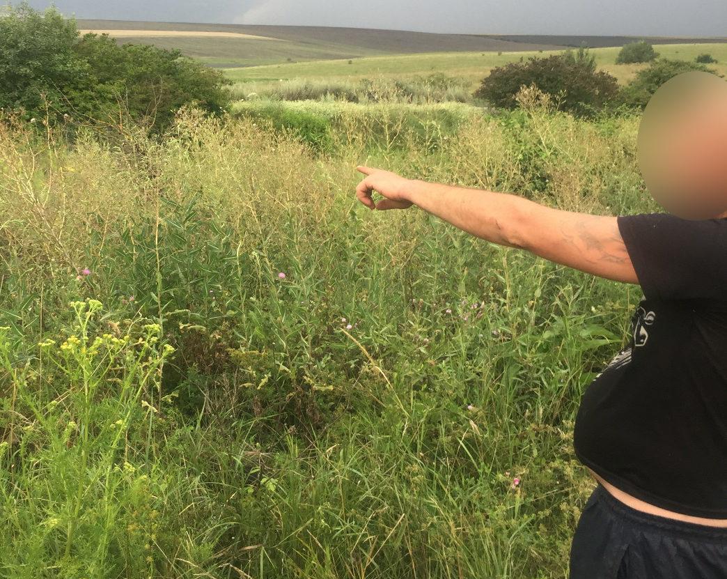 Un moldovean, reținut după traversarea ilegală a hotarului moldo-ucrainean. Bărbatul este la a doua încălcare