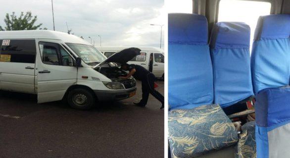 Administratori de rută, amendați pentru admiterea în circulație a maxi-taxiurilor defecte