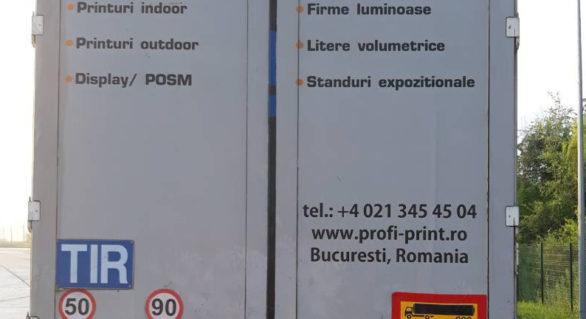 Act falsificat și semiremorcă cu documente străine, reținute în PTF Leușeni