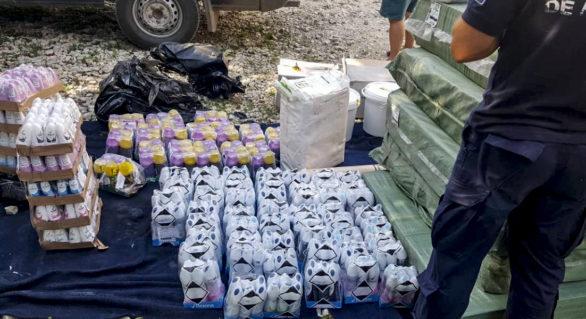 Mărfuri de circa 40 de mii de lei, fără acte de însoțire, depistate în nordul țării