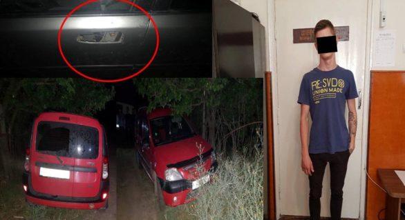 Minor din capitală, reținut și documentat pentru furtul a opt automobile. Ultimele două le-a sustras în luna iulie