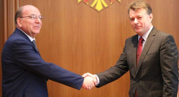 Noul Ambasador agreat al Federației Ruse în Moldova a înmânat copiile scrisorilor de acreditare la MAEIE